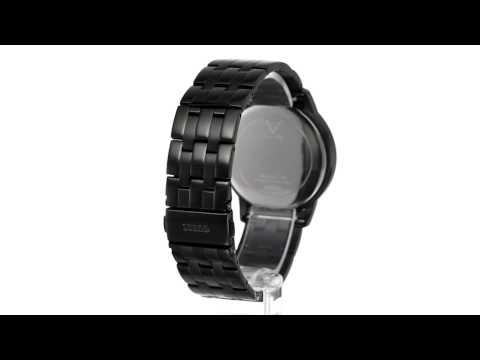 GUESS - U13009G1 Diamond Dial Round Watch Set SKU:7896976