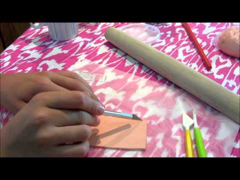 How To Make A Wood Textured Fondant