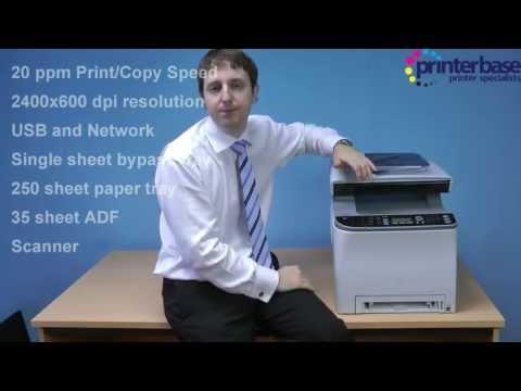 Ricoh SPC-242SF Video Review by Printerbase