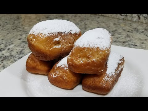 HOMEMADE BEIGNET RECIPE| HOW TO MAKE BEIGNET FROM SCRATCH