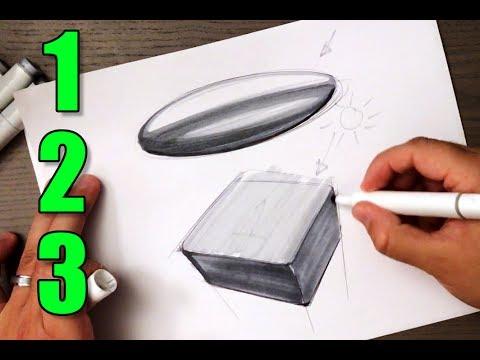 3 Important Sketching Exercises for Any Designer (Beginner)