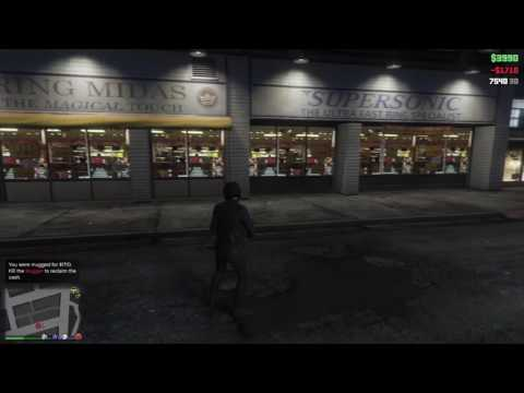 Grand Theft Auto V - Got Mugged By My Own Mugger