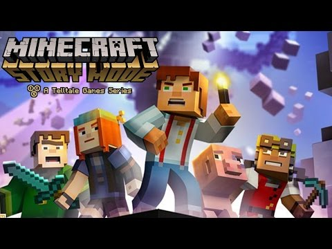 MINECRAFT STORY MODE EPISODE ONE! #2 ZOMBIES