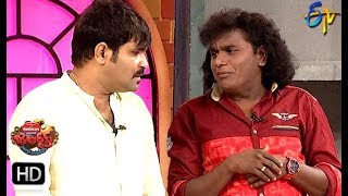 Chalaki Chanti&Sunami Sudhakar Performance | Jabardasth | 15th August 2019 | ETV Telugu
