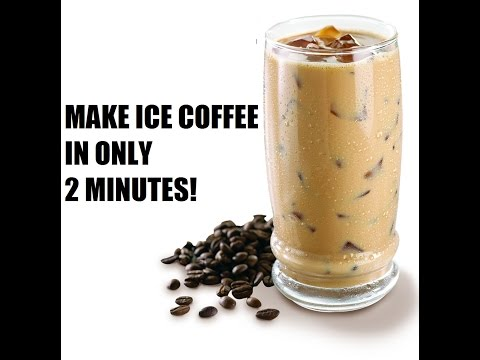 How to make Iced Coffee in Only 2 minutes!