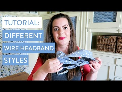 Tutorial: Different Ways to Rock our Wire Headbands | Mane Message