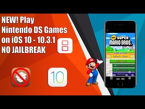 NEW! Play Nintendo DS Games on iOS 9/10 - 10.3.1 NO JAILBREAK