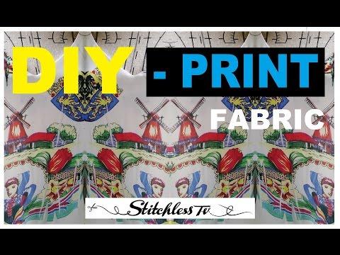 DIY Sublimtion printing at home - Upcycle clothes