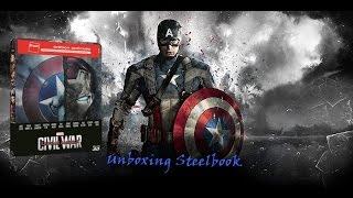 Unboxing steelbook édition fnac captain america civil war