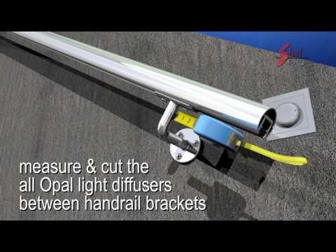 3D video animation/ LED HANDRAIL/DIY