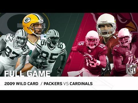 2009 NFC Wild Card: Packers vs. Cardinals |