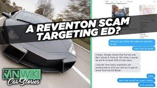 Is this Lamborghini Reventón scam targeting Ed?