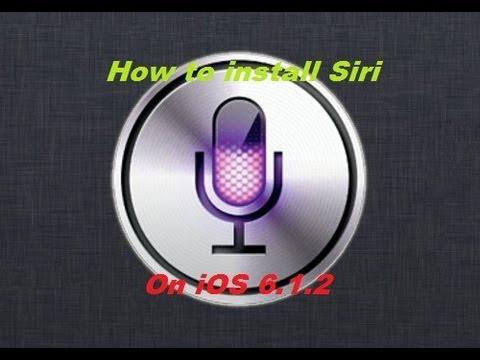How to Install Siri On iOS 6.1.2 Work On iPhone 4/3Gs & iPad 2