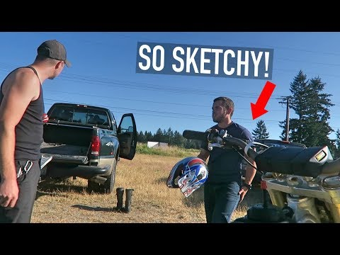 Guy Tries To Sell Us A SKETCHY DIRTBIKE!