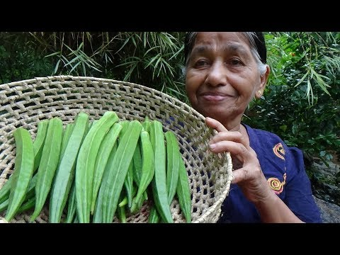 Healthy Village Foods ❤ Village Style Okra Fry Recipe by our Mom