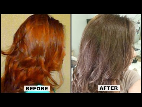 How to Tone Brassy Orange Hair at Home w/ Results │ L'Oreal Paris Mousse Hair Dye Review