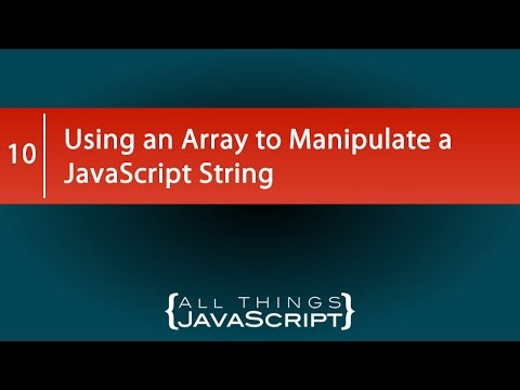 Using split to Manipulate a JavaScript String