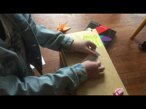 Origami Made Effortless: How to Fold an Origami-Inspired Business Card Jumping Frog