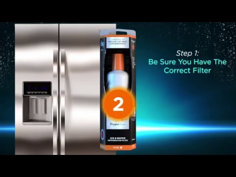 How to Install EveryDrop™ Ice & Water Refrigerator Filter 2