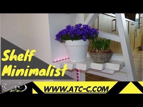 Modern and simple design // Creative DIY Shelf // HOW TO DIY
