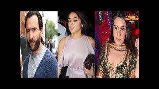 Amrita Singh Loses Her Cool On Saif Ali Khan | Salman Khan On