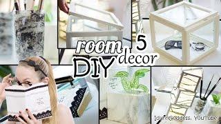 5 DIY Room Decor and Desk Organization Ideas - Art Deco Style
