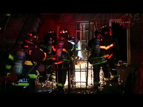 FDNY Box 1464: 2-Alarm Sunset Park Fire Injures Firefighters