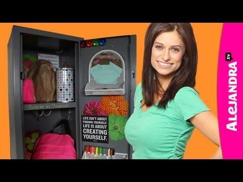 How to Organize Your Locker - Locker Organization & Decorating Ideas