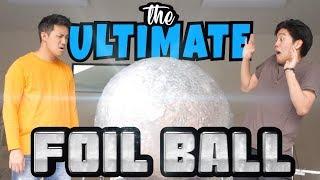 The Ultimate Foil Ball (definitely clickbait)