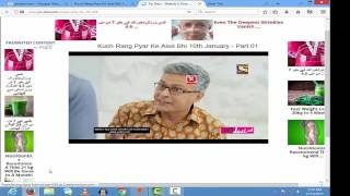 Best method to watch online indian and pakistani dramas serials.