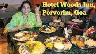 Hotel Woods Inn Goa VLOG | Fish Thali Review by Archana | Tasty Safar in Goa