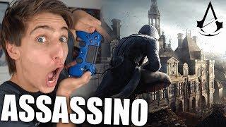 VIREI UM ASSASSINO!!! - Gameplay Assassin's Creed Unity