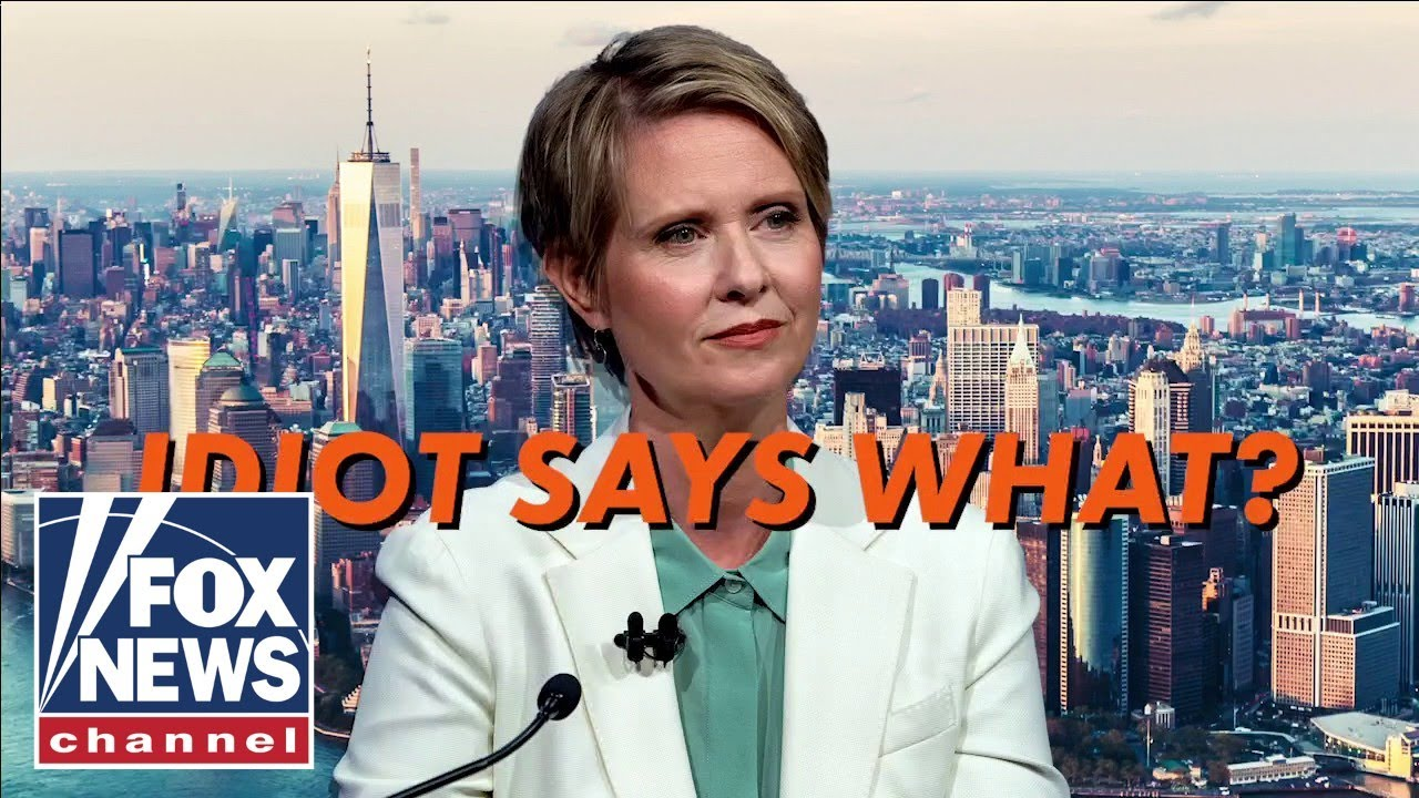 Cynthia Nixon says the poor should be allowed to steal from stores
