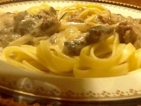 Cooking From Scratch: Easy Beef Stroganoff