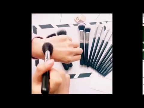 makeup brush set - makeup brush set