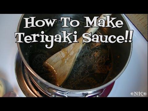 Teriyaki Sauce!!  Noreen's Kitchen!