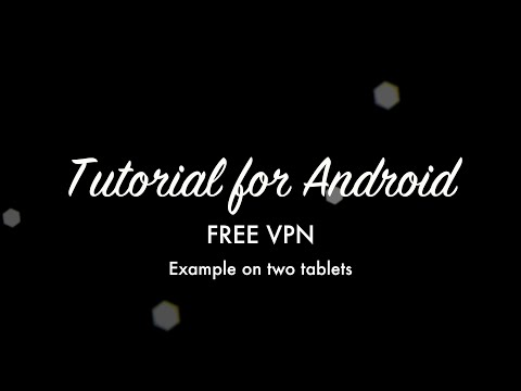 Free VPN Server on your Android