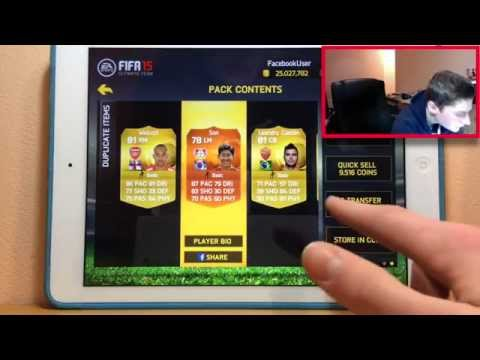 FIFA 15 IOS-BEST PACK OPENING EVER FT. RONALDO,MOTM'S+INFORMS