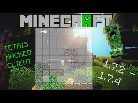 Minecraft 1.7.2 - 1.7.5 : Hacked Client - Tetris - GOD OF PVP [HD]