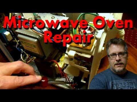 How to Fix a Microwave Oven - Simple Fuse Replacement