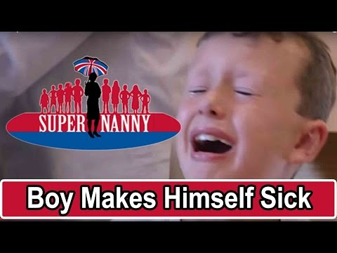 Boy refuses to eat anything but chips | Supernanny