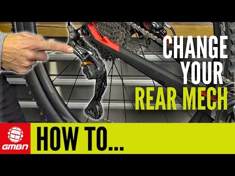 How To Install A Rear Derailleur | Mountain Bike Maintenance