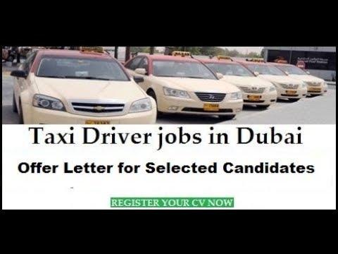 OFFER LETTER | Dubai Taxi Driver Jobs | Jobs in Dubai / Dubai Latest Job 2018