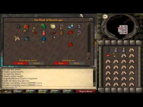 First Barrows gloves on 2007scape(?) at 62 Combat :D