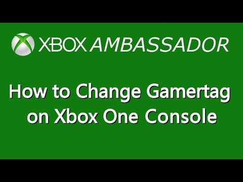 How to Change your Gamertag on Xbox One Console | Xbox Ambassador Series