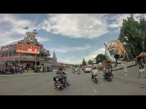 Virtual Ride (motorcycle) - Sturgis 2016 - Sturgis to Lamphere Ranch