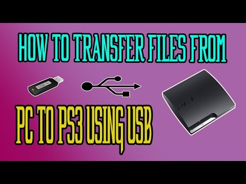 How To | Transfer Files | From PC to PS3 | Using | USB