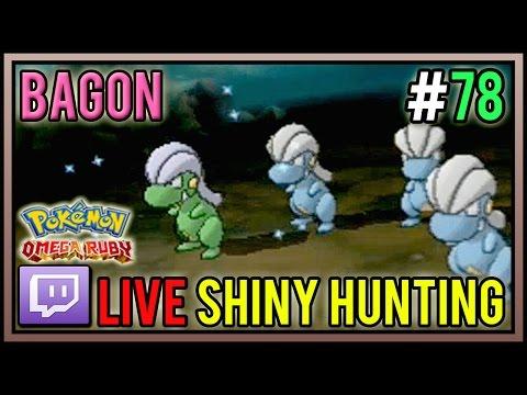 Live 5% Shiny Bagon at 459 Horde Encounters | Shiny Pokemon #78 | Pokemon ORAS