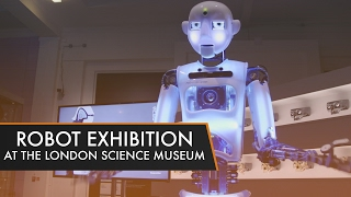 Download The Weird, Wonderful, and Creepy Robots at the Science Museum Exhibition! Video