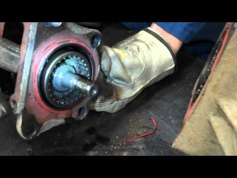 Vacuum Operated front differential
